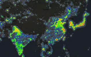 light map pics for gt light pollution map interactive