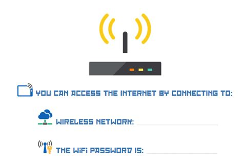Free Wifi Password Printable