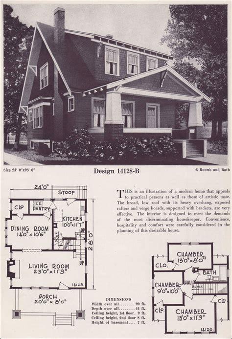 1925 bungalow house plans chicago bungalow house plans craftsman style bungalow 1925 bowes co hinsdale il