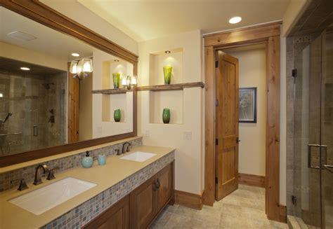 Mountain Home Bathroom Design Mountain Modern Bathroom Contemporary Bathroom