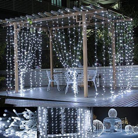 led fairy light curtain lighting ever 4300006 dw us le led window curtain icicle