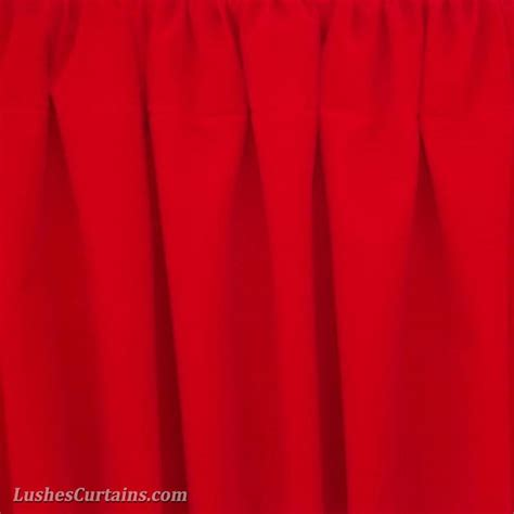 bright red curtains window treatment bright red rod pocket curtain topper
