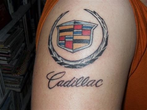 cadillac tattoo 194 best images about cadillac accessorizing on