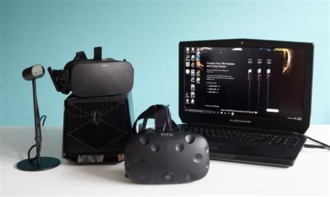 Vr Laptop Turn Your Alienware Laptop Into A Vr Ready Desktop