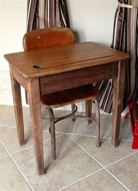 Wooden School Desk Chair by Vintage Wooden School Desk And Chair School Desks