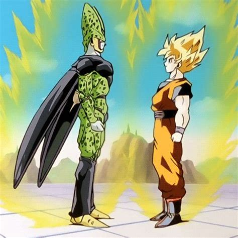 imagenes de goku vs cell 116 best images about dragon ball on pinterest jessica