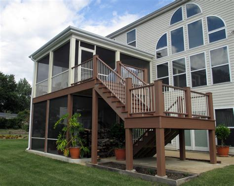 screened rooms traditional porch st louis by