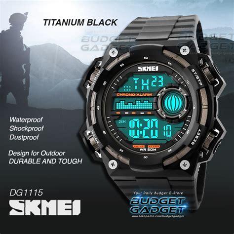 Skmei S Shock Militer Sport Water Resistant 50m Dg1054 Black jual sepatu kets wedges bowling en16 hitam murah harga terbaru ijual