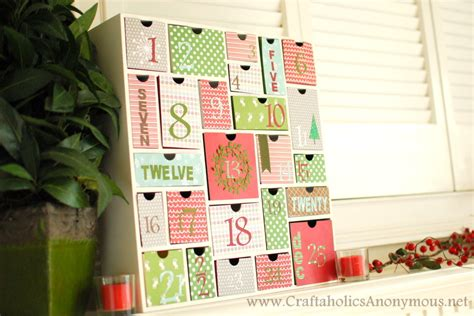 advent calendar countdown christmas craft idea