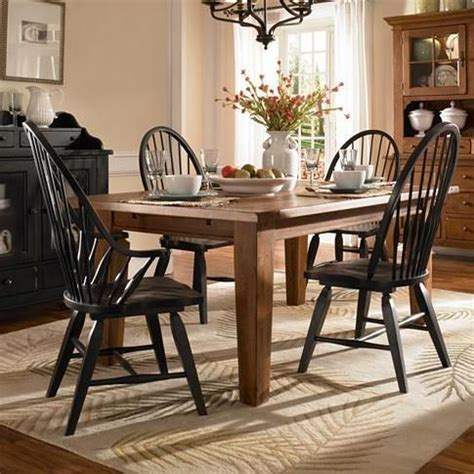 attic heirlooms 5 piece dining set by broyhill furniture