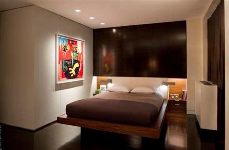 platform bed integrated  built  nightstands saves