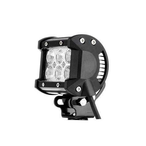 fcc compliant led lights 4 inch 18w cree spot beam dual row led work light bar