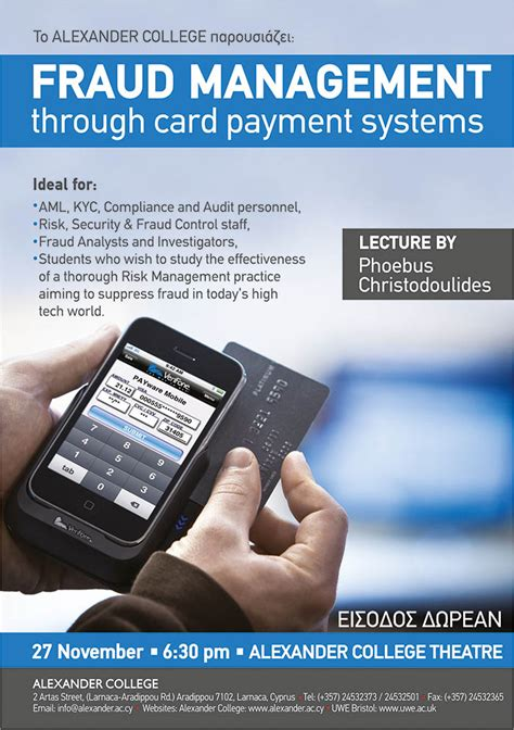 Mba Fraud Management by Fraud Management Through Card Payment Systems