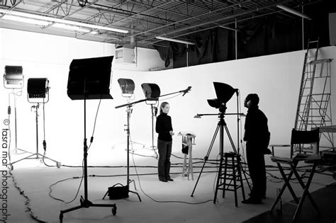 set lights to wrapping a lighting audio and directing