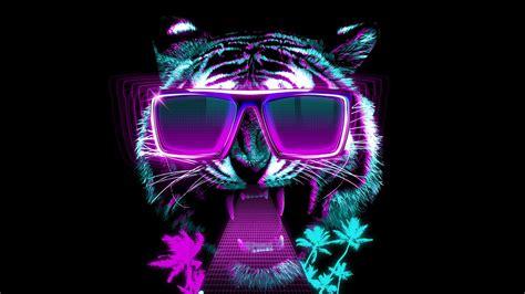 neon tiger wallpaper hd impremedianet