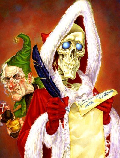 by terry pratchett hogfather death as the hogfather joy and midwinter pinterest