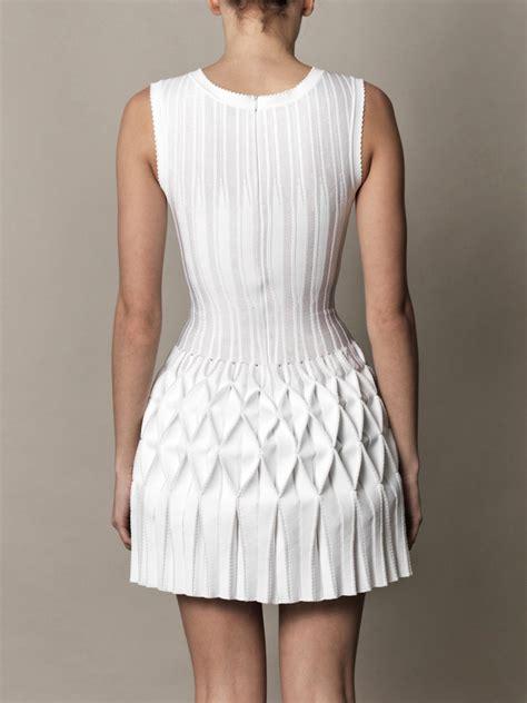 Origami Dresses For - azzedine ala 239 a origami pleated skirt dress for aewom