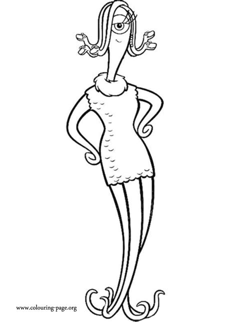 Monsters, Inc. - Celia Mae coloring page