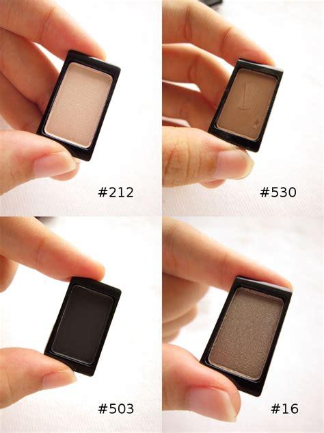 Eyeshadow Quality artdeco 12 pan magnum custom palette single eyeshadows