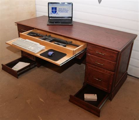 Desk Gun Safe by Best Gun Concealing Furniture To Keep Deadly Weapons Secure