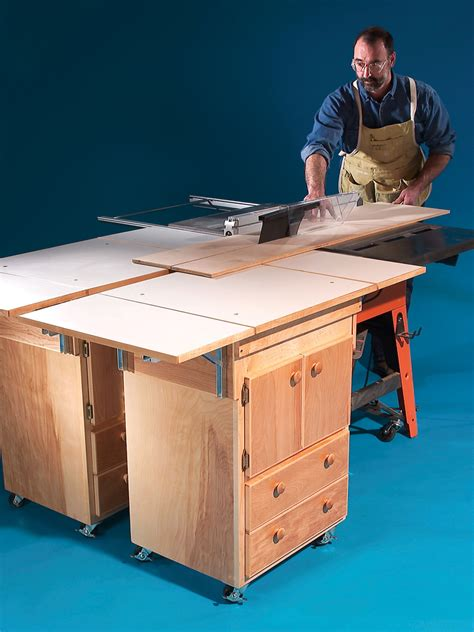 more popular woodworking outfeed table fl