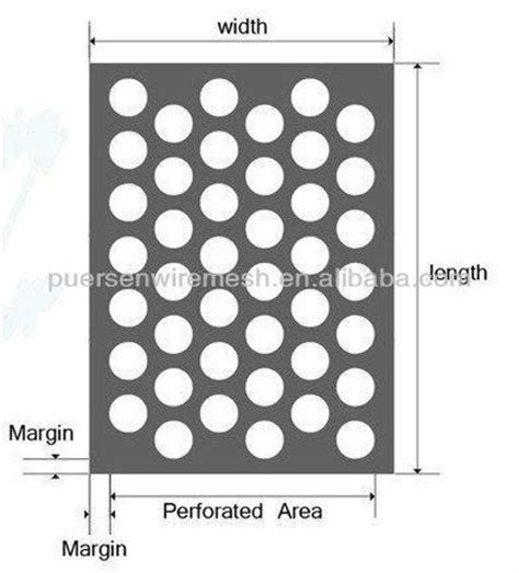 0 2mm round hole diameter micro steel punched perforated