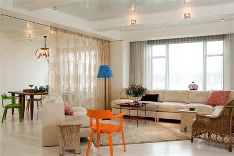 dining room decorating ideas create privacy with pocket use curtain room divider smart home design ideas