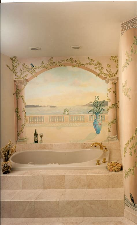 bathroom wall murals 100 bathroom wall mural ideas wall