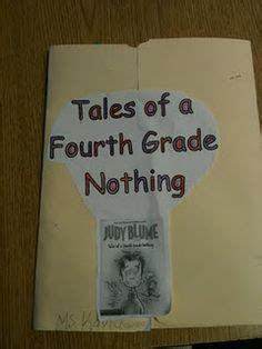 tales of a fourth grade nothing book report drawings fourth grade and character trait on
