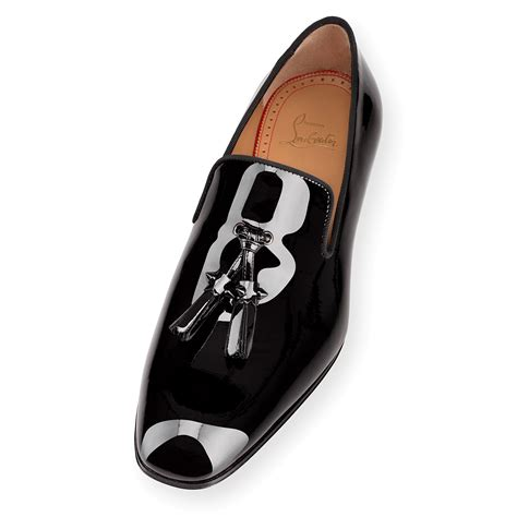 wag loafers christian louboutin leather tassel loafers mens