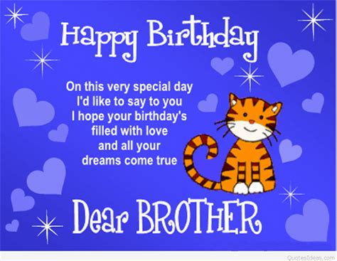 Birthday Quotes For From Happy Birthday Brothers In Law Quotes Cards Sayings