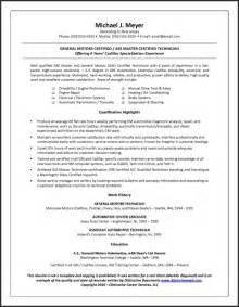 resume typesbusinessprocess