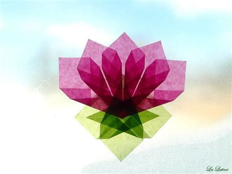 How To Make Kite Paper Flowers - lotus flower window kite paper transparency summer
