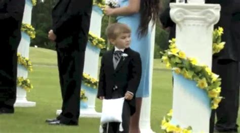 Light Bearers Ministry Best Of Funny Ring Bearers Cute Videos