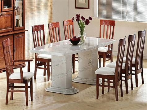 marble dining room table set stocktonandco