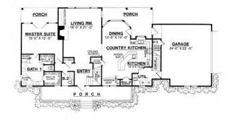 House Plans With Large Kitchen The Country Kitchen House Plan Home Decor Pinterest