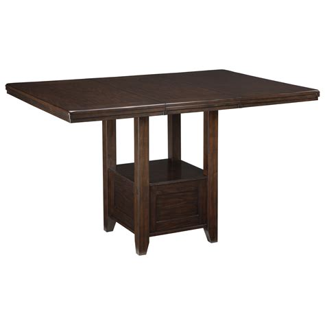 dining room extension table rectangular dining room extension table with shelf by signature design by ashley wolf and