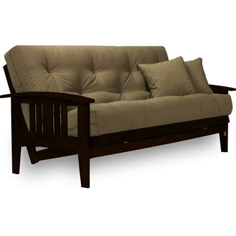 complete futon sets westfield dark espresso complete futon set rich finish