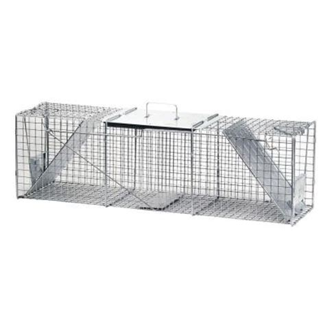 havahart x large 2 door live animal cage trap 1050 the