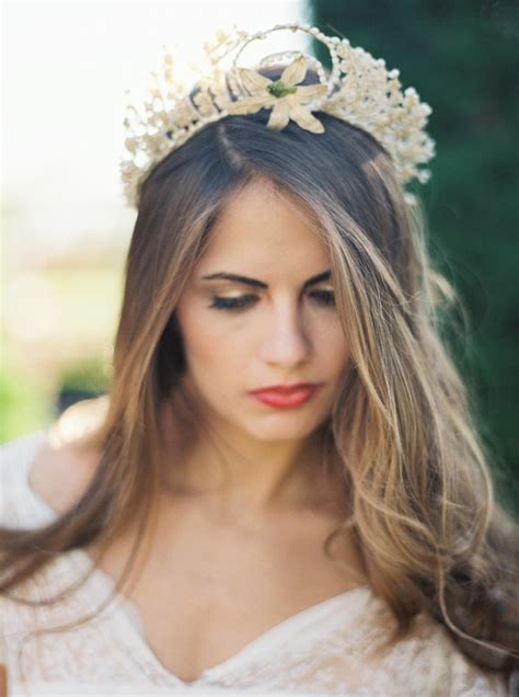 Vintage Hairstyle Wedding Hair Hairstylegalleries by Vintage Wedding Hairstyles Hair Flowers Crown 29