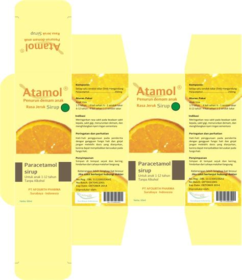 desain kemasan sirup sensasi rasa jeruk semester 5 packaging design