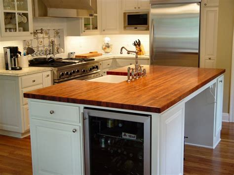 kitchen counter islands mesquite custom wood countertops butcher block