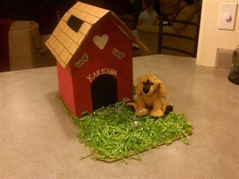 dog house box dog house 2011 valentine s box my daughter and i made she loved the puppy