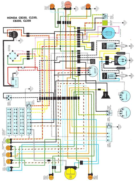 cb350 wiring diagram get free image about wiring diagram
