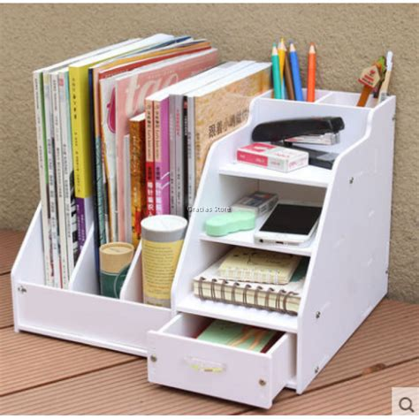 diy multi purpose home office stationery storage box