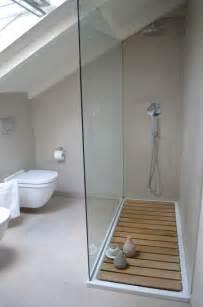du bois dans la salle de bain cocon de d 233 coration le