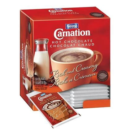 Carnation Home Cleaning by Nestl 233 Carnation 174 Chocolate 50 Packets 1400g