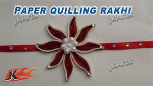 How To Make A Handmade Rakhi - diy paper quilling rakhi for raksha bandhan how to make