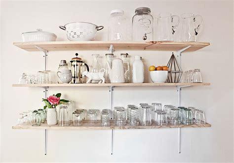 Barware Shelves Home Tour Elsie S Kitchen A Beautiful Mess