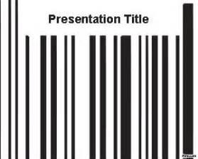 2d barcode powerpoint template